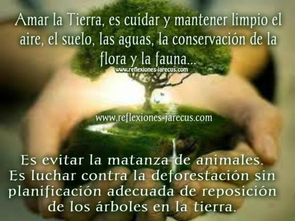 Amar la Tierra