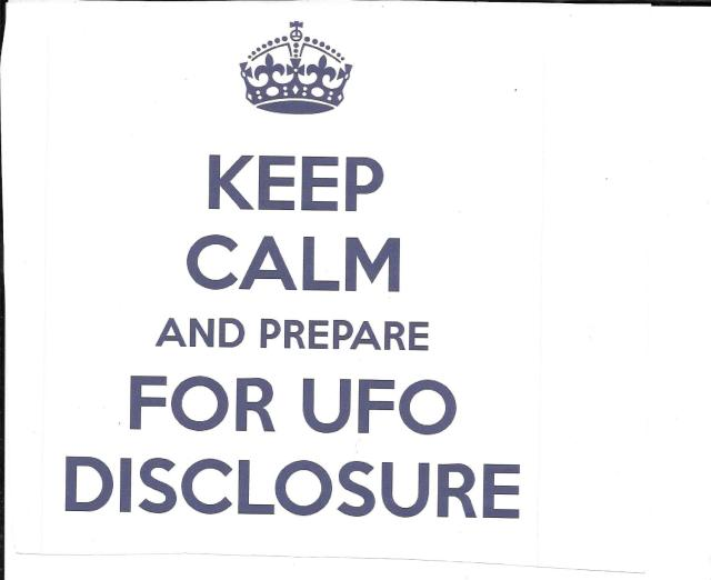 Scan Keep calm and prepare for disclosure