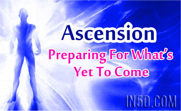 Ascension Prepare for Change