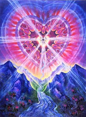 corazon lleno de amor