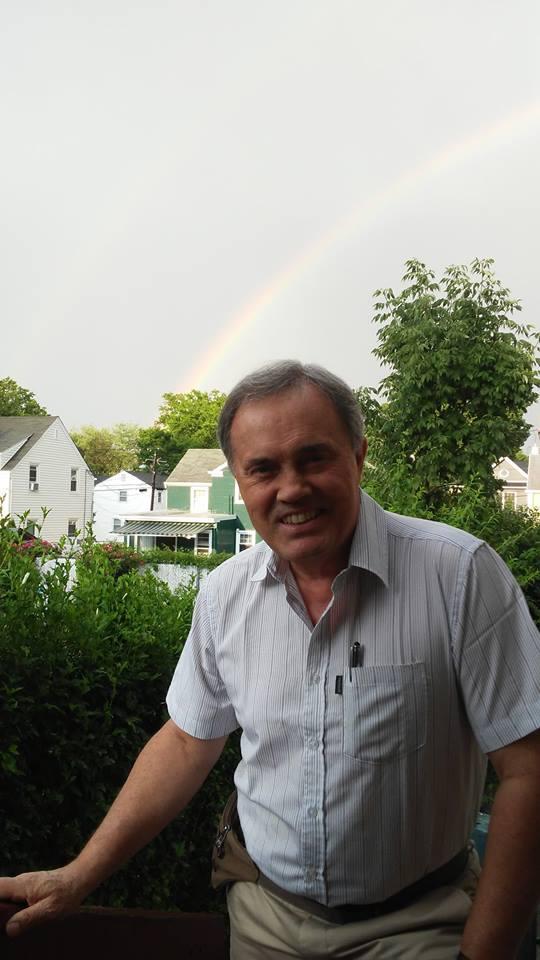 Sixto con arco iris