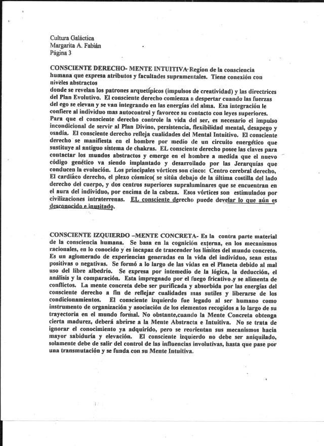 cONSCIENTE IZQUIERDO Y DERECHO