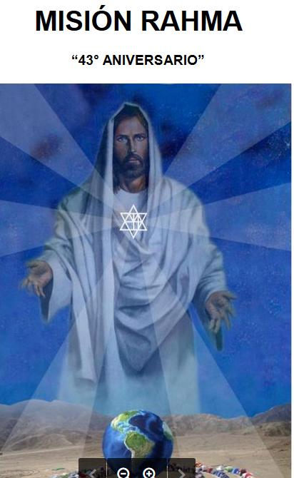Jesus y la estrella Rahma 43 ANiversadio