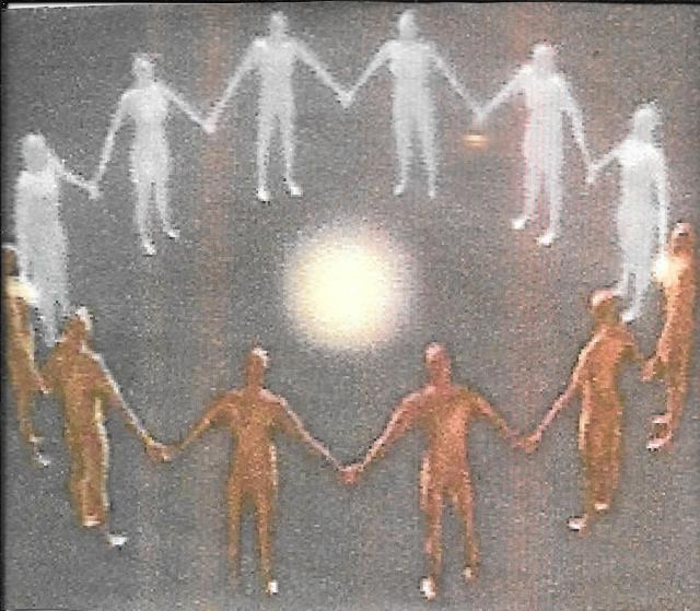 Personas en meditacion