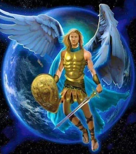 Arcangel Miguel con escdo