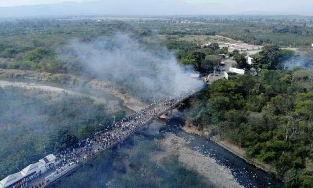 Venezueka amenazo con abrir fuego