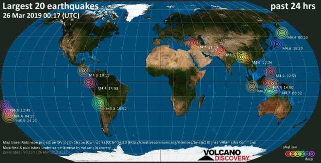 earthquakes-latest Volcano discovery