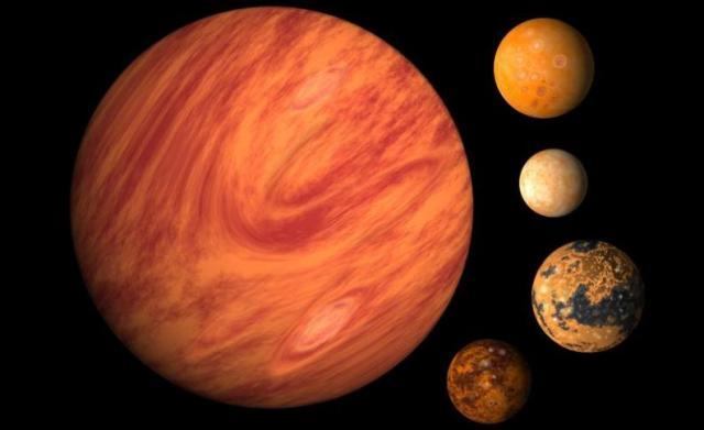 Lunas de nustro sistema solar
