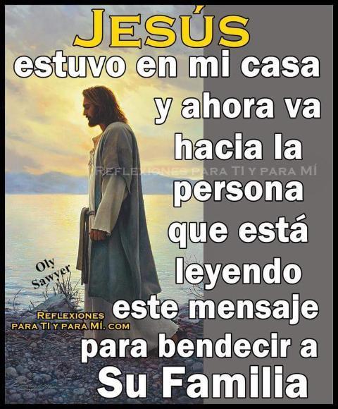 jESUS ETUVO EN MICASA