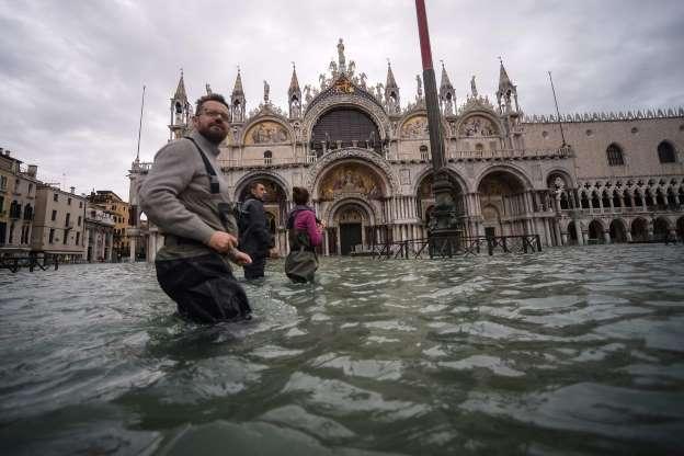 Venecia en agua