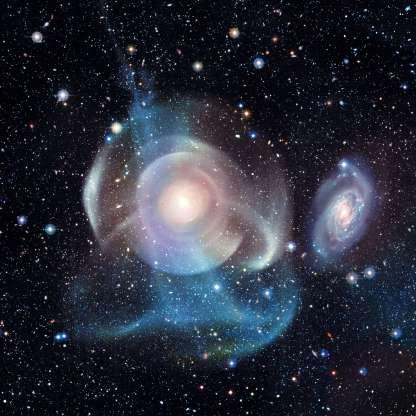 conchas y EStrellas NGC474